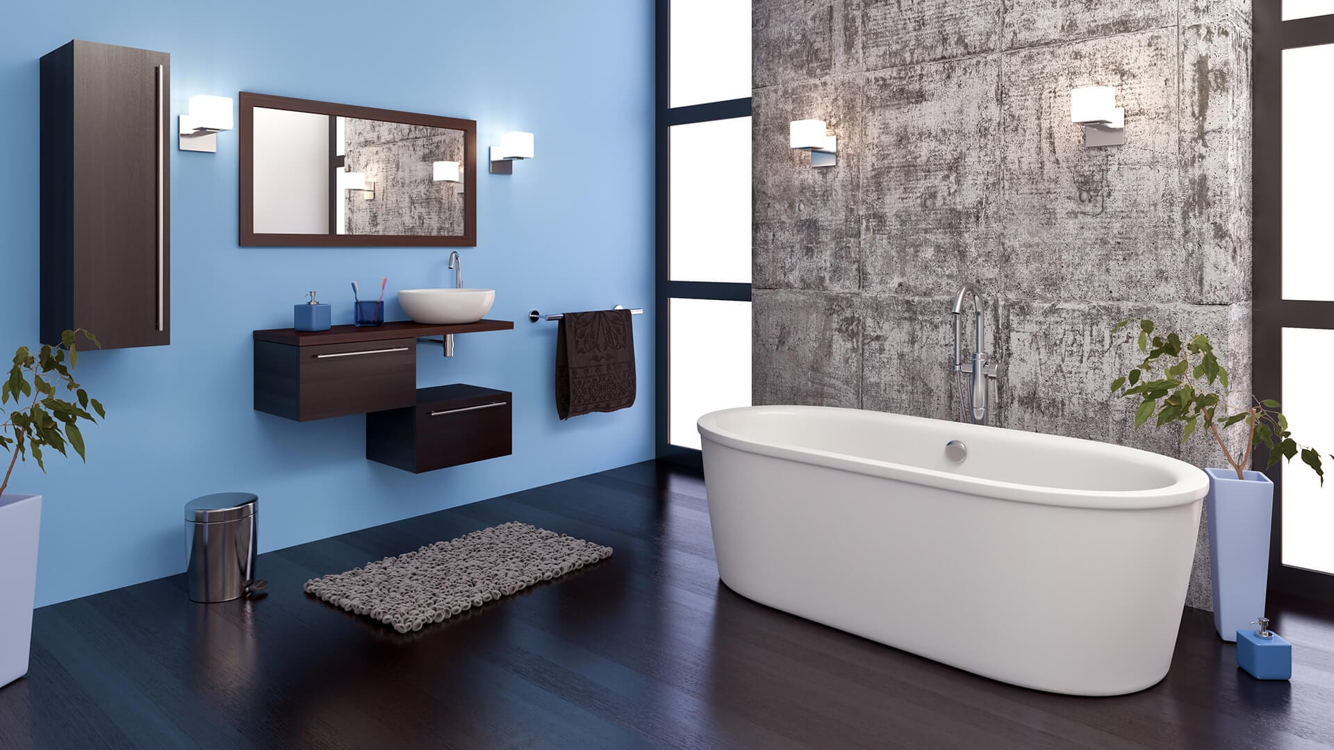 contemporary-master-bathroom-remodel-with-stand-alone-soaking-tub-in-Rye-NY