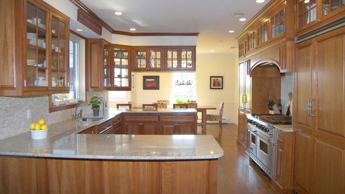 Glass Front kitchen cabinets doors lighten up this k…atonah ...