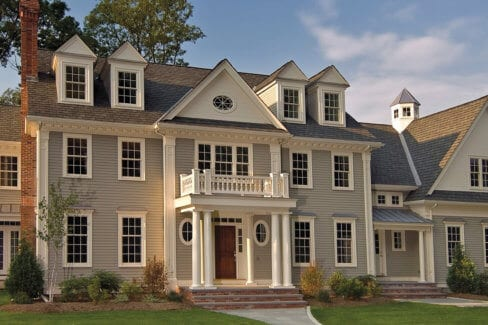 Luxury home armonk ny custom paint exterior