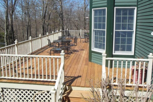 New-IPE-Deck-with-white-contrasting-railing-in-Pound-Ridge-NY-