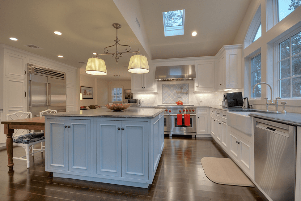 gerety-building-restoration-blue-white-kitchen-remodel-luxury