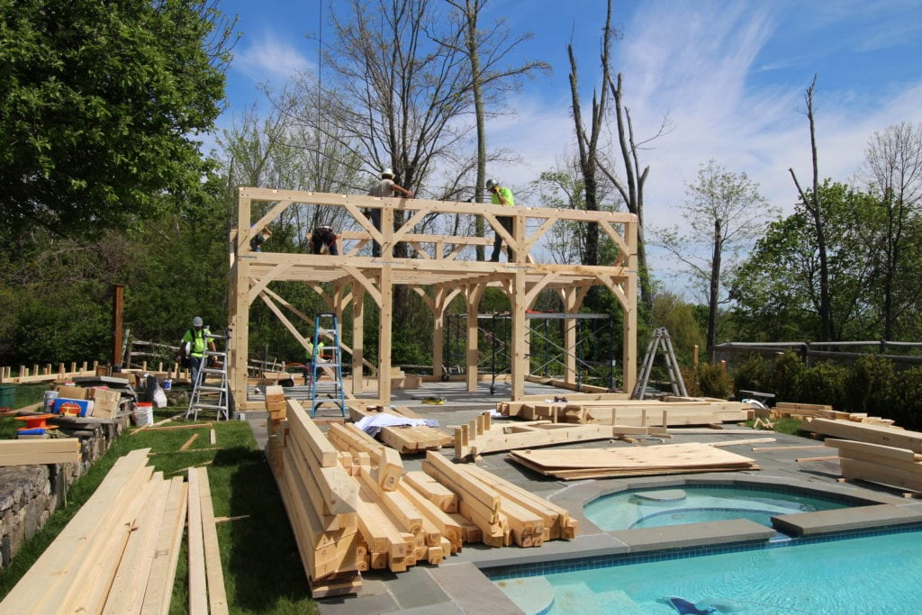 New Luxury Carriage House Construction